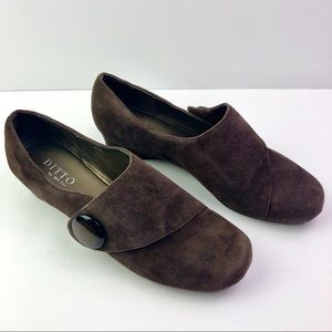 Ditto by VANELi Suede Slip On Shoes